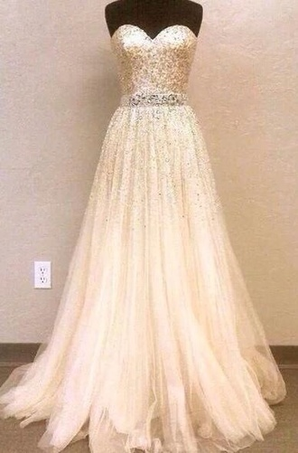dress ball gown prom dress glitter dress shiny maxi dress