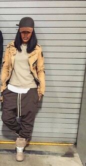 pants,dope,all nude everything,trill,teyana taylor,harem pants,joggers,grey pants,sweatpants