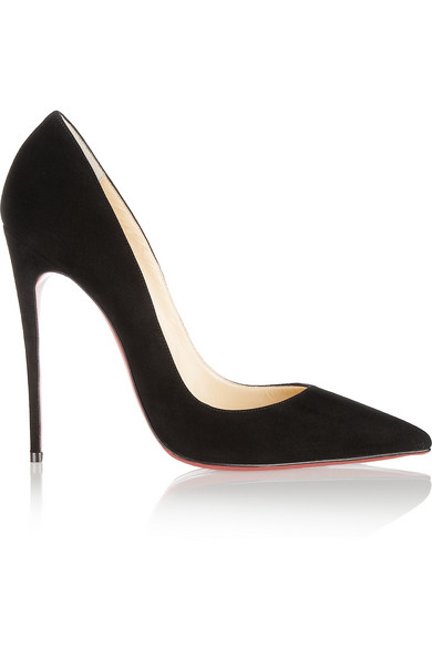 Christian Louboutin | So Kate 120 suede pumps | NET-A-PORTER.COM