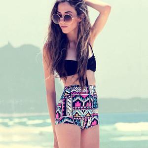 aztec swimwear black bikini tribal bikini high waisted bikini retro