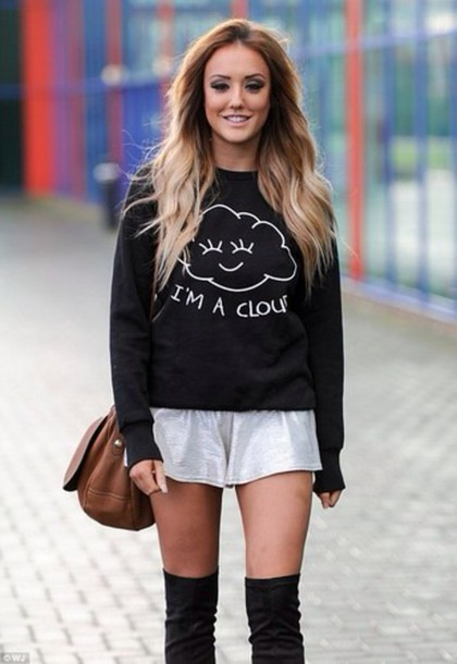 cardigan nostalgia charlotte crosby geordie shore coton bag