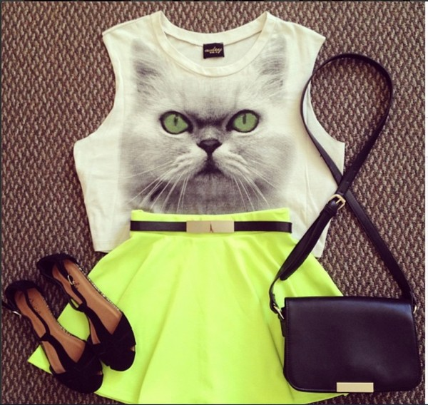skirt neon skirt neon green neon green skirt scuba skirt scuba skter skirt skater skirt
