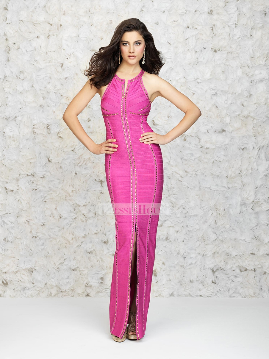 Mermaid empire waist beaded with a front zip prom dress pd11819 sale online