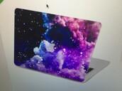 phone cover,galaxy print,macbook pro case