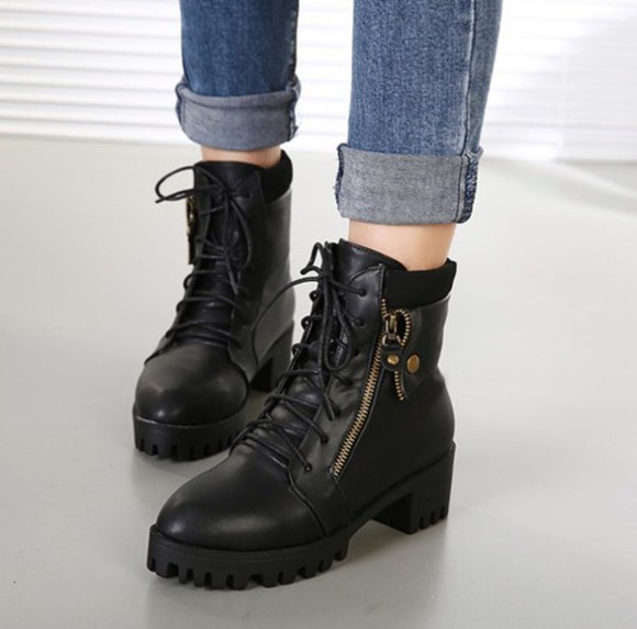 shoes boots black black boots