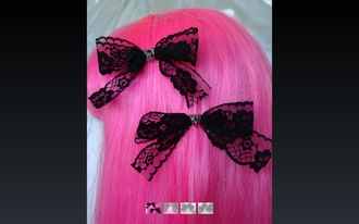 dentelle hair accessories barrette