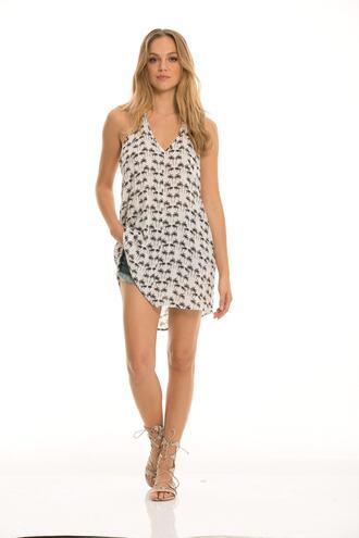 dress elan print designer summer dress bikiniluxe