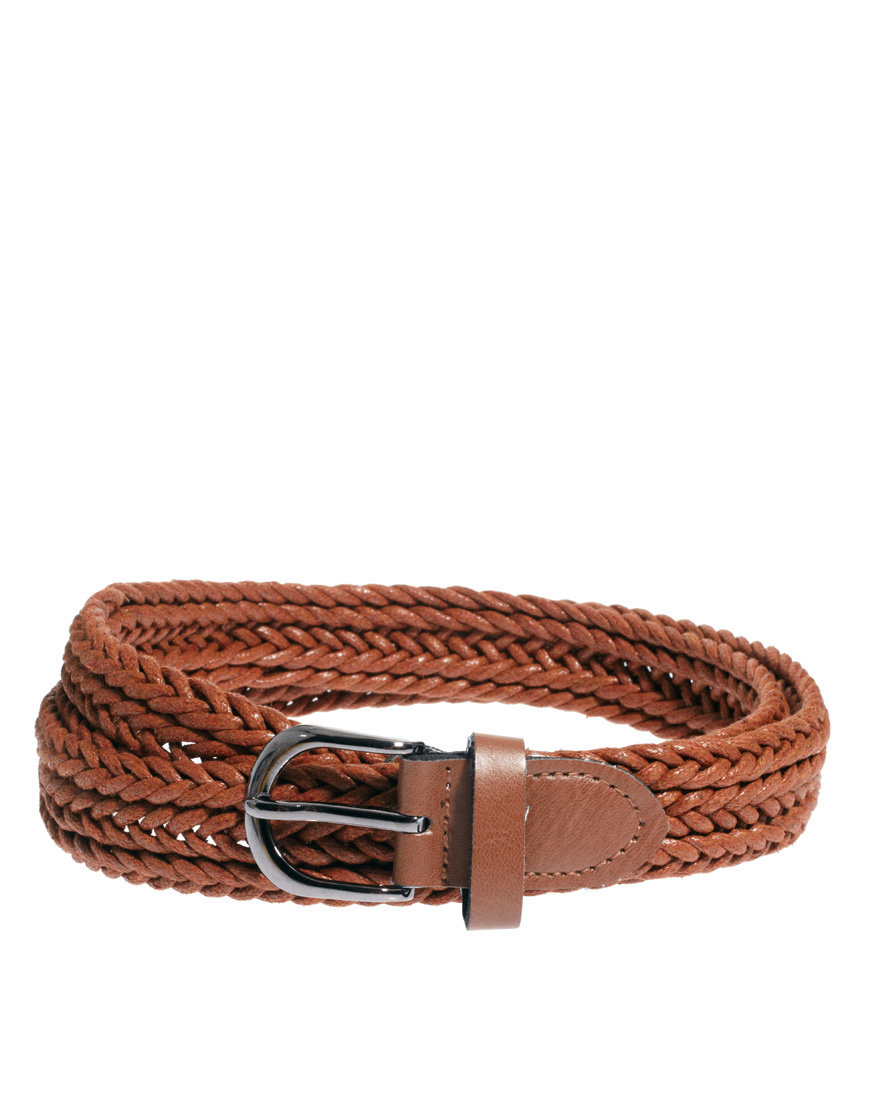 River Island Woven Belt at asos.com on Wanelo