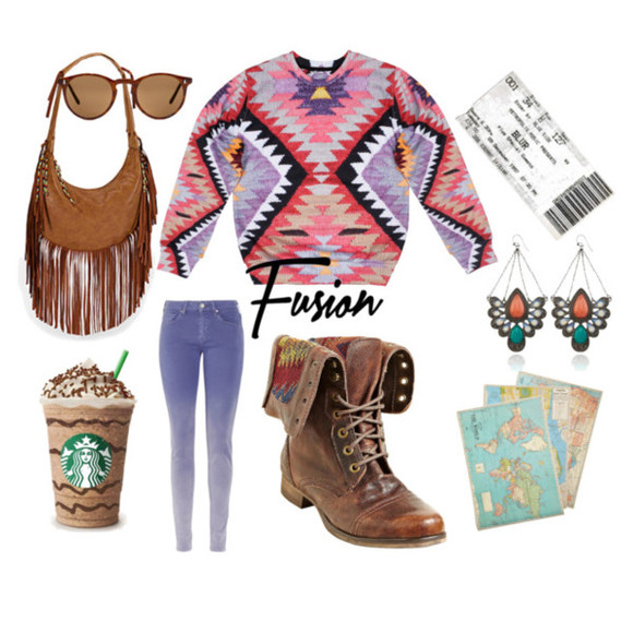 sweater crewneck sweatshirt aztec sexy sweaters fusion sweaters tribal sweater tribal pattern