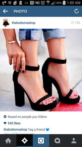 platform shoes high heels platform high heels strappy ankle strap heels chunky heels