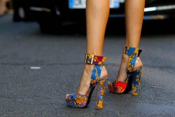 shoes printed sandals sandals sandal heels high heel sandals platform sandals thick heel block heels
