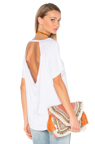 back short white top