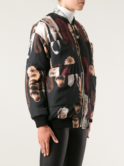 Carin Wester Fox Print Jacket - Pagne - Farfetch.com
