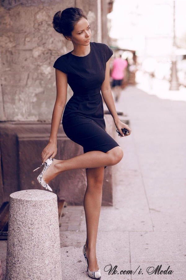 black little black dress casual fashion cute dress dress shoes heels animal print high heels cute shoes black dress blue dress midi dress summer dress classy dress body shaper navy short navy blue dress