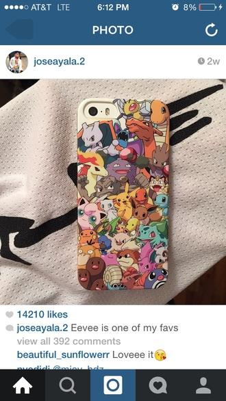 phone cover pokemon