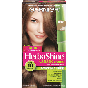 Garnier herbashine color creme with bamboo extract