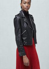 jacket,leather jacket,leather,biker jacket,rock,perfecto,black,black jacket,mango