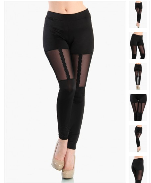 pants lace garter mesh black leggings garter leggings cute lace leggings