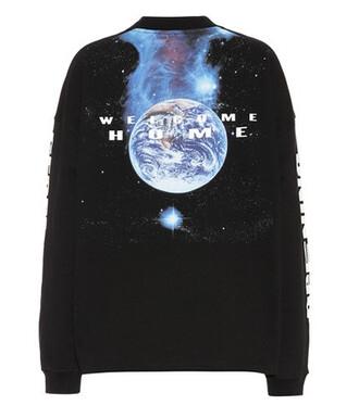 sweatshirt cozy cotton black sweater