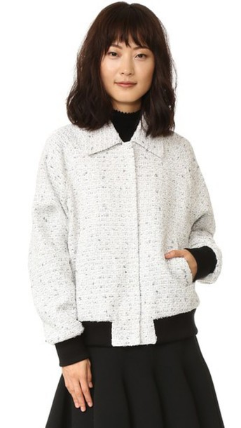 GIAMBATTISTA VALLI jacket bomber jacket white