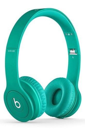 teal headphones