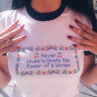 shirt tumblr women feminists