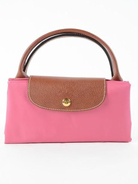 Longchamp purple pink bag
