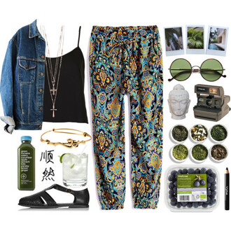 grunge hipster indie dope instagram denim jacket t-shirt shoes sunglasses jacket pants