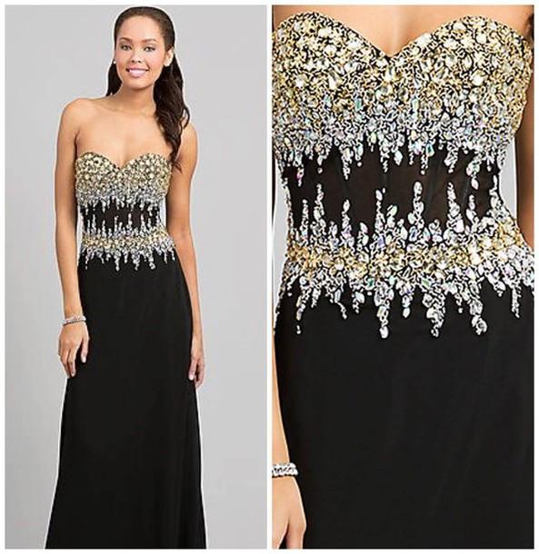 dress prom prom dress cute dress glitter dress