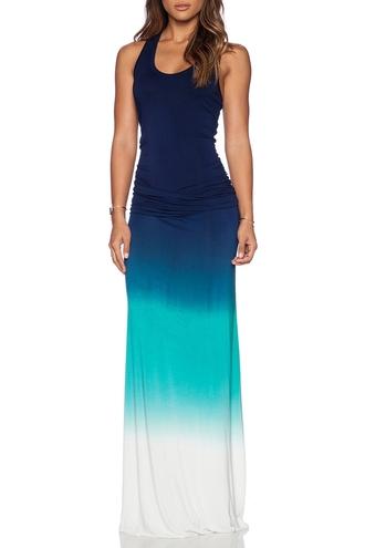 dress green blue white