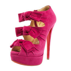 Online Shop red bottom high heel open toe shoes with bow|Aliexpress Mobile