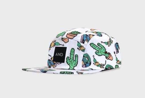 snapback cactus maisie williams 5 panel hat