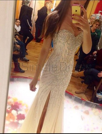 dress prom dress prom gown long prom dress sequin dress gorgeous sparkle