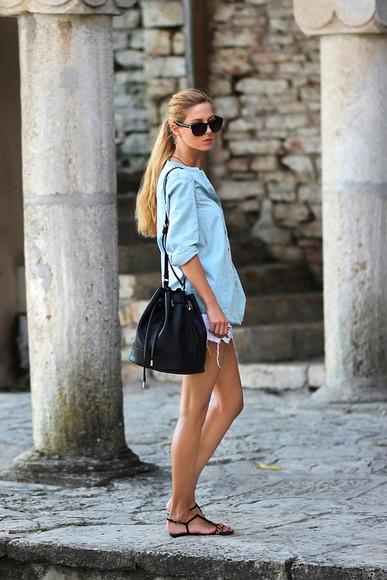 sirma markova shoes bag jewels sunglasses blogger