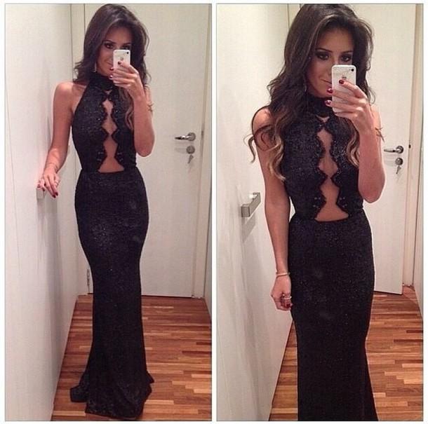 dress black dress prom long dress sequin prom dress home accessory jacket