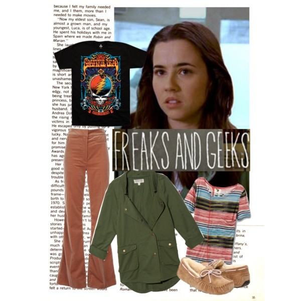 t-shirt freaks and geeks lindsay weir grateful dead t-shirt