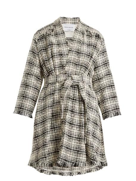 Sonia Rykiel coat cotton white black