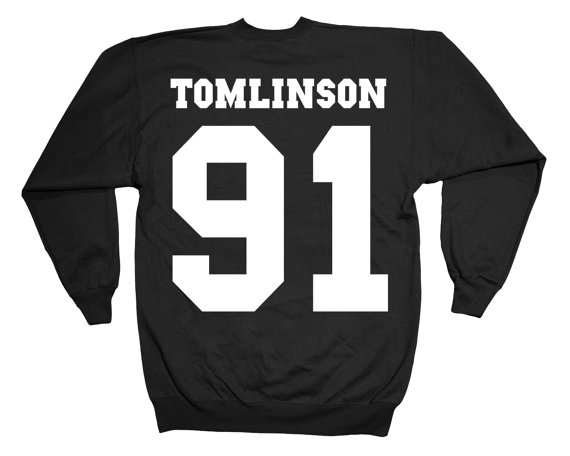 Louis tomlinson one direction 1d 5 seconds of summer 5sos justin bieber fashion indie dope swag jumper sweater double print sweatshirt