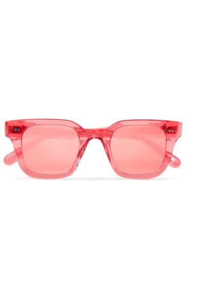 CHIMI sunglasses mirrored sunglasses pink