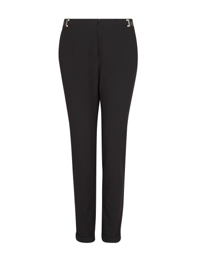 tabbed waist trousers