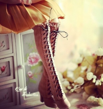 shoes pink heels boots combat boots knee high boots