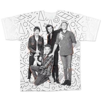 t-shirt one direction harry styles louis tomlinson liam payne niall horan