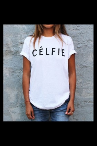 celfie celfie shirt trendy swag model fashion