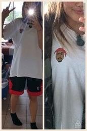 shirt,tupac
