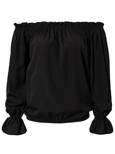 Off Shoulder Blouse - Nly Trend - Zwart - Blouses & Shirts - Kleding - Vrouw - Nelly.com
