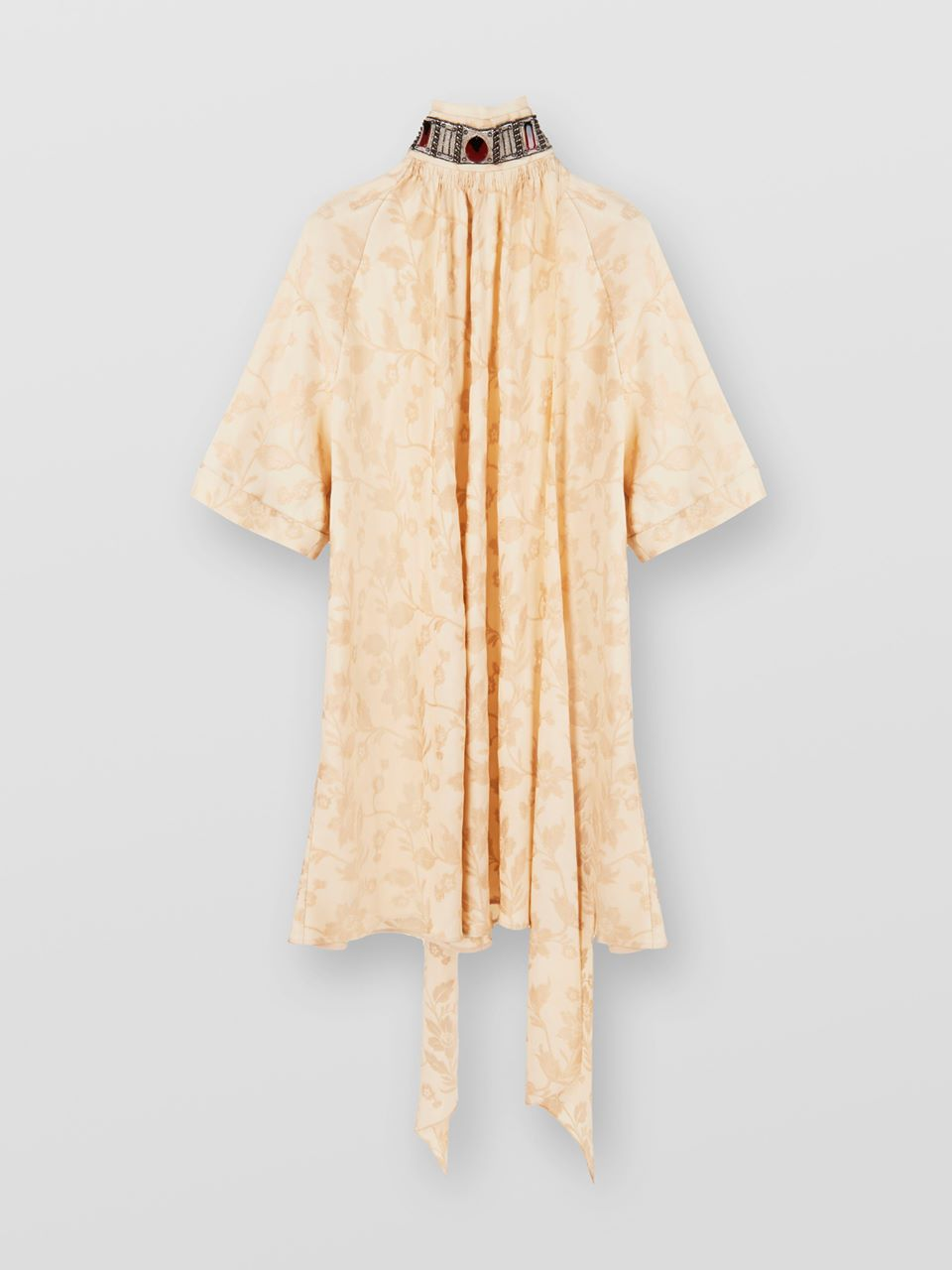 CHLOÉ Lavallière dress Women's LIGHT CAMEL 100% Viscose