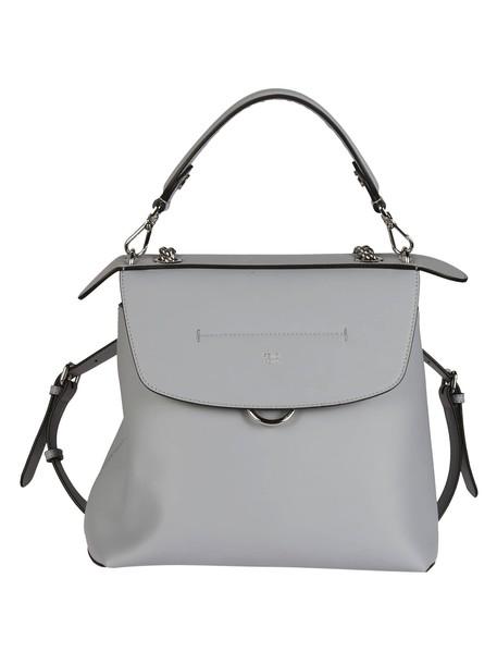 Fendi back backpack blue bag