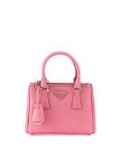 bag,micro handbag,prada,handbag,pink bag