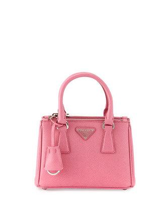 bag micro handbag pink bag prada handbag