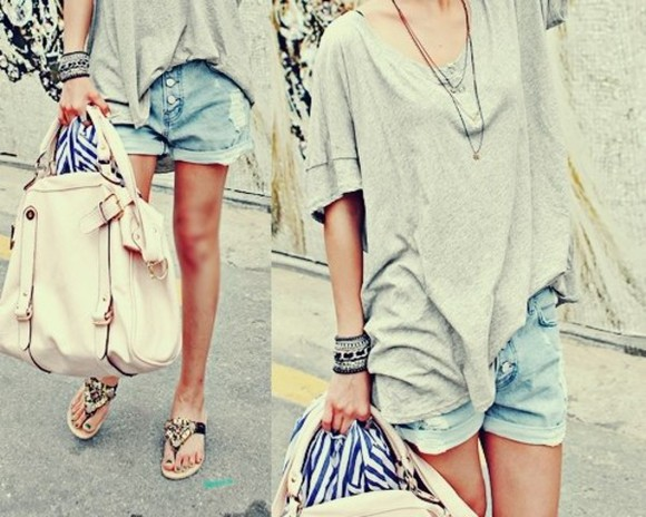 jeans jeans pants shorts clothes bag blouse